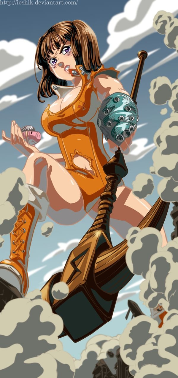 """Who is the strongest member in """"Seven Deadly Sins""""? - Quora"""