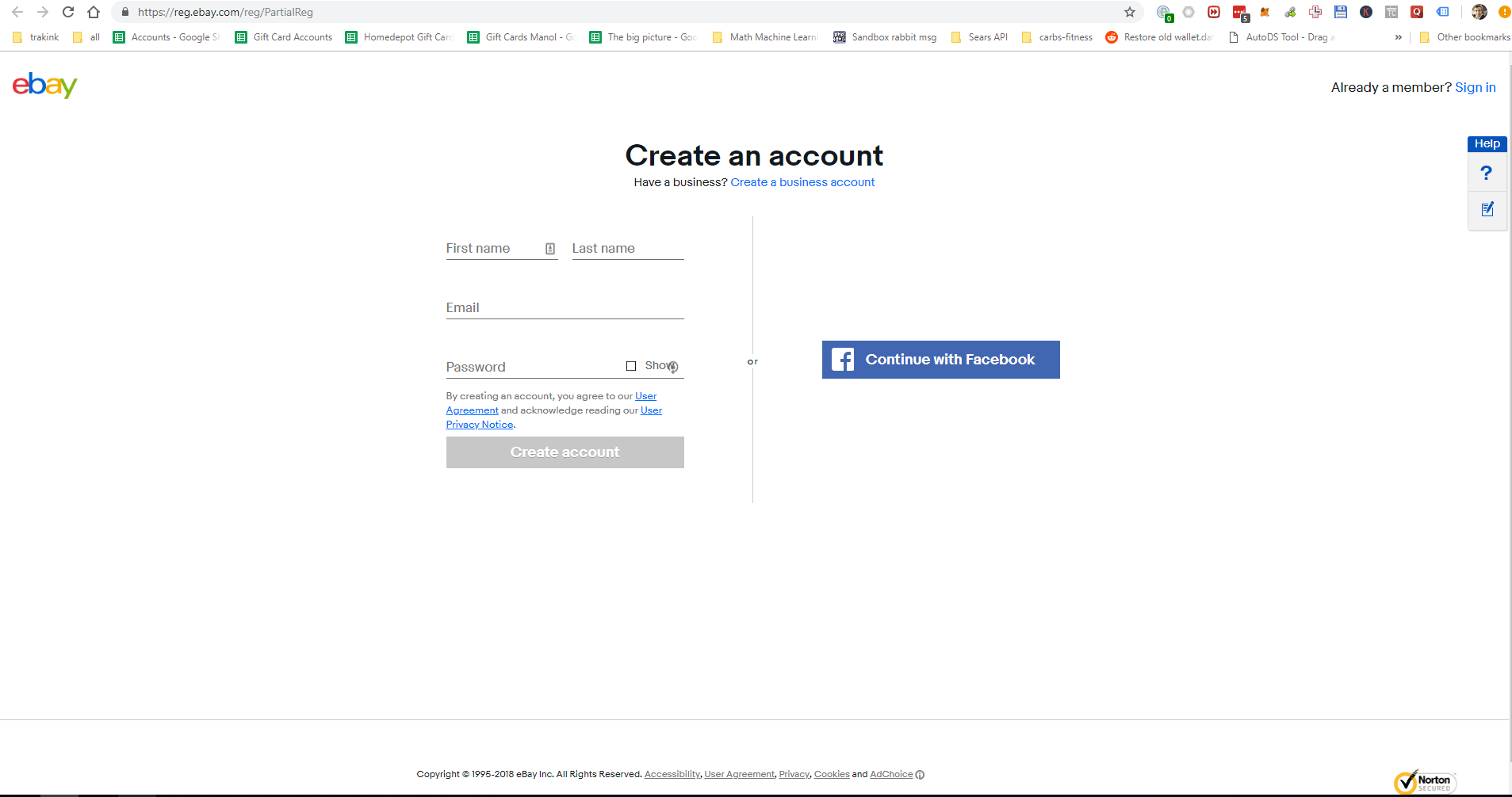 Ebay Registration Verification And Seller Priv Get Your Drop