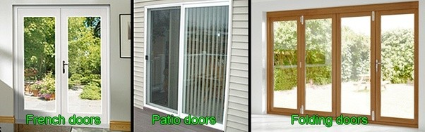 Sliding Patio Doors, On The Other Hand, Are Mostly Made From UPVC And  Feature Large Expanses Of Glass, So Tend To Look Best In Modern Homes.