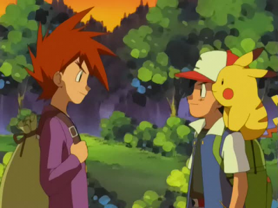 How does Ash not get tired so easily being addicted to traveling