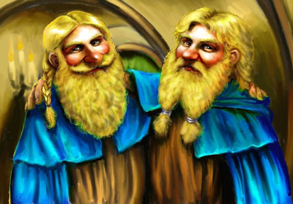 Why did Fili and Kili look more like Men, rather than young Dwarves