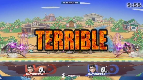 Why was Super Smash Bros  4 EVO (2018) the worst biggest event at