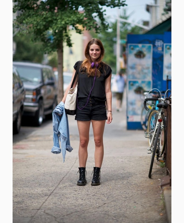 3f89ecffcbe Is it OK to wear Doc Marten boots with shorts  - Quora