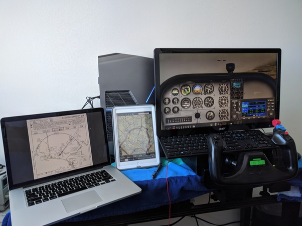 Would a person who mastered the flight simulation software on a home