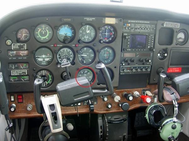 Cessna 172 Instrument Panel Diagram - 0425