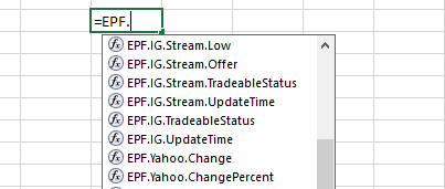 Is there any way to fetch real time stock data in excel? - Quora