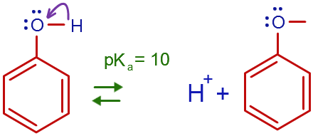 Is Phenol More Acidic Than Water Or Less Quora