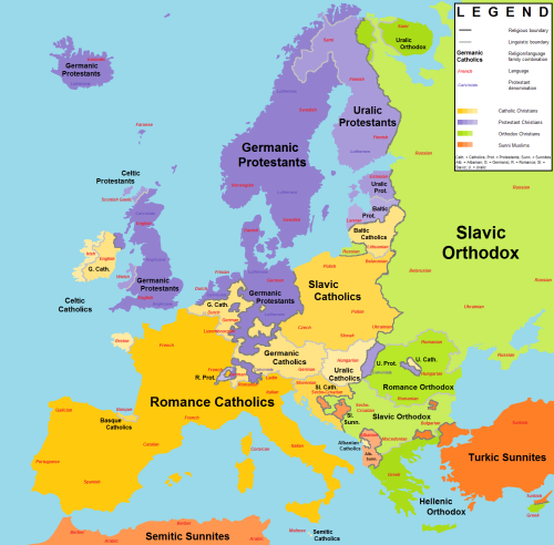 Are Scandinavian Countries Overall More Similar To Britain Or To - Map of europe and scandinavian countries