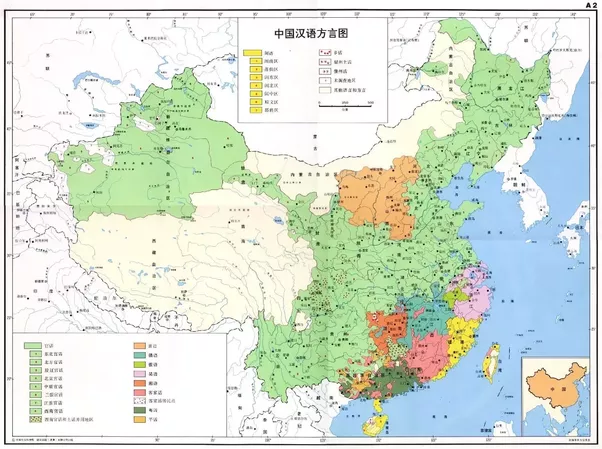 Why Does Chinese Have So Many Languages And Which Is The Most - China language map