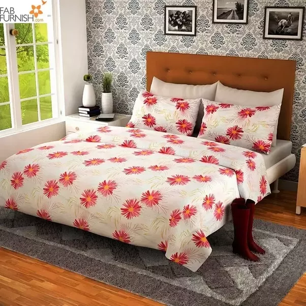 Bed Sheets   Buy Bed Linen, Designer Bed Sheet Set Online India    FabFurnish.com