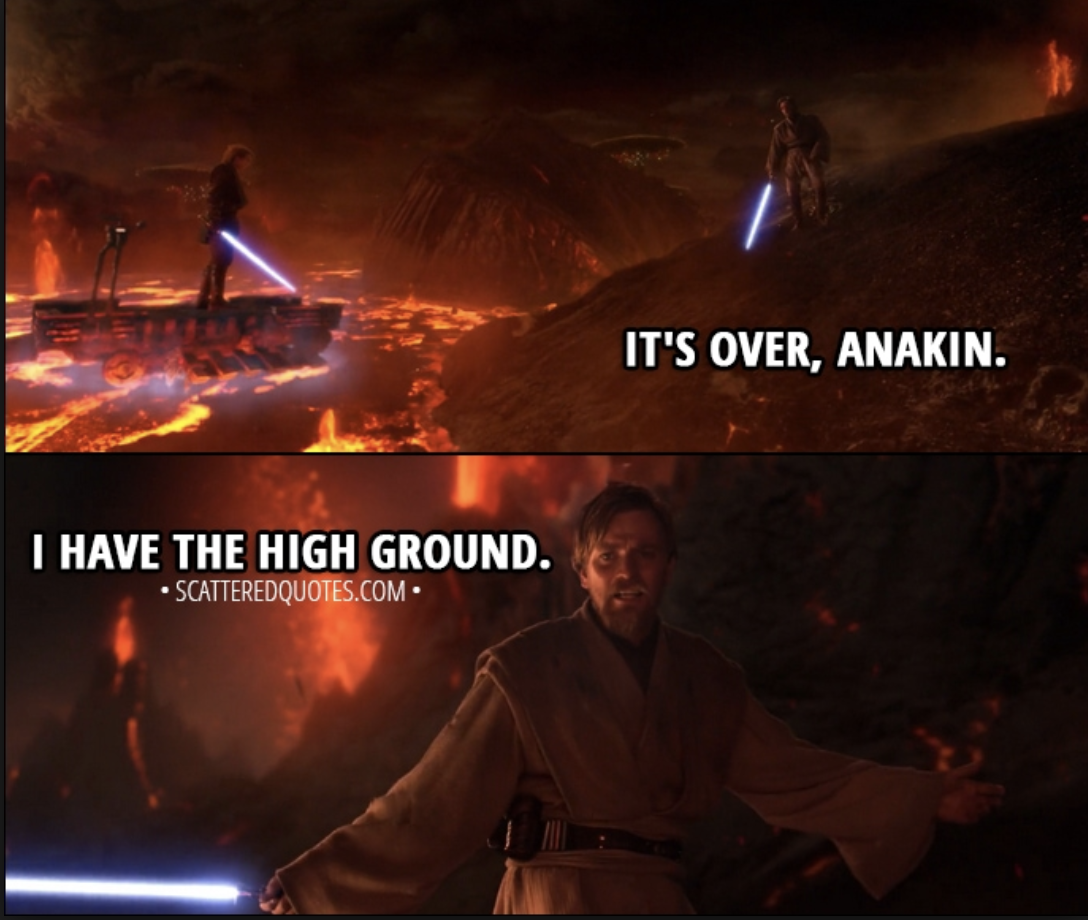 How Would The Star Wars Universe Be Changed If Anakin Killed Obi Wan On Mustafar Quora