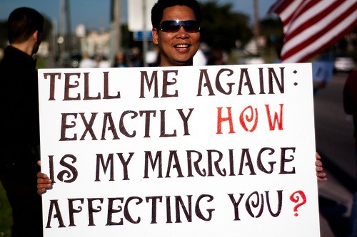 Why homosexual marriage should be legalized