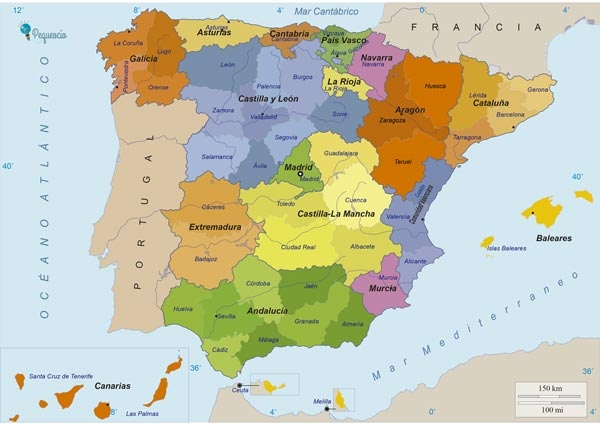 Basque Map Of Spain.Is Pamplona A Basque Or Spanish City The Same Question For Navarre