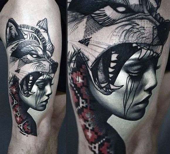 What Are Some Wolf Tattoo Designs Quora