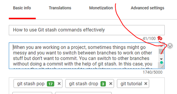 How to insert emoticons in a YouTube description text - Quora