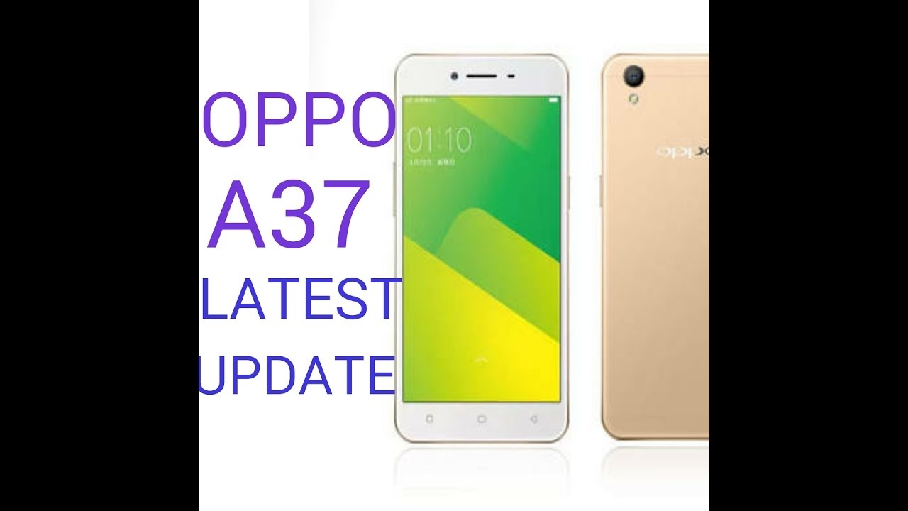 When will the Oppo A37 get the Marshmallow update? - Quora