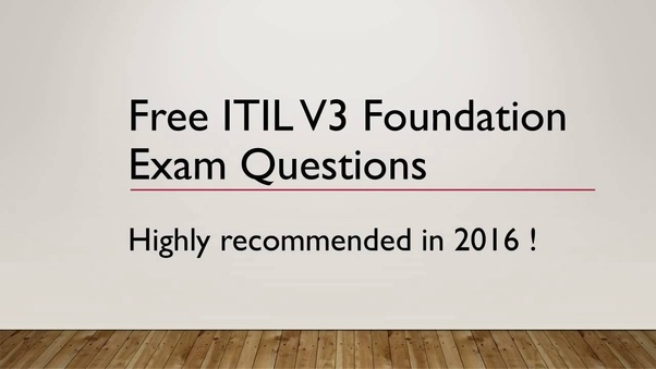 Free itil pdf v3 foundation