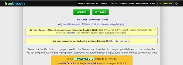 how do u earn bitcoins