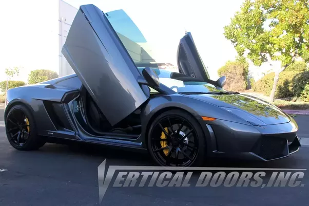 Lamborghini Gallardo Door Kit by Vertical Doors Inc & Is it worth adding scissor doors to a Lamborghini Gallardo Spyder ...