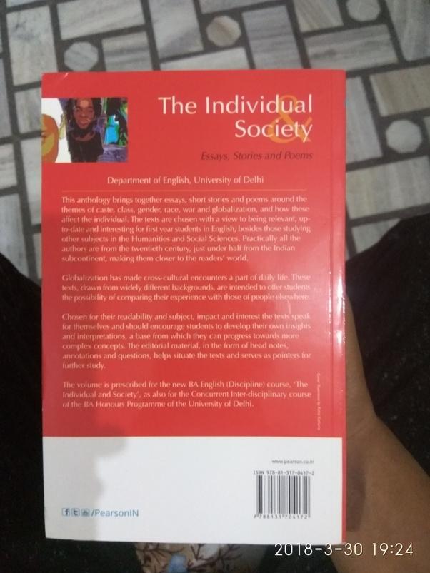 the individual and society notes