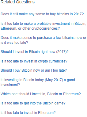 Is bitcoin a good investment quora