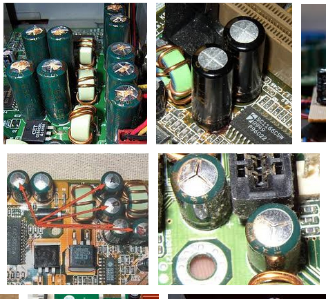 How do we know the dead capacitor before connecting to power? - Quora