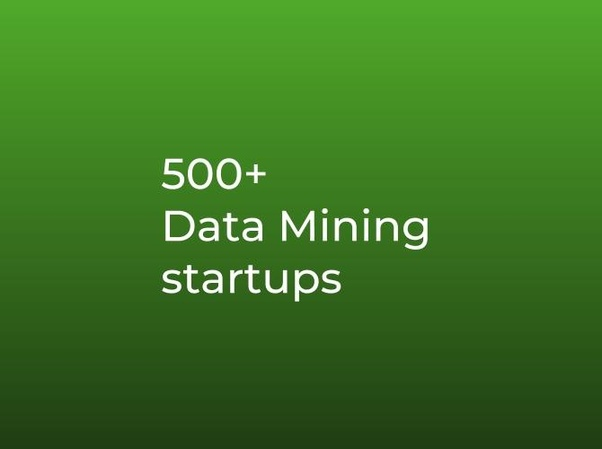 What are some good examples of data mining startups? - Quora