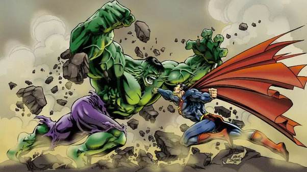 Who has the hardest punch? Superman, Hulk or Flash? - Quora