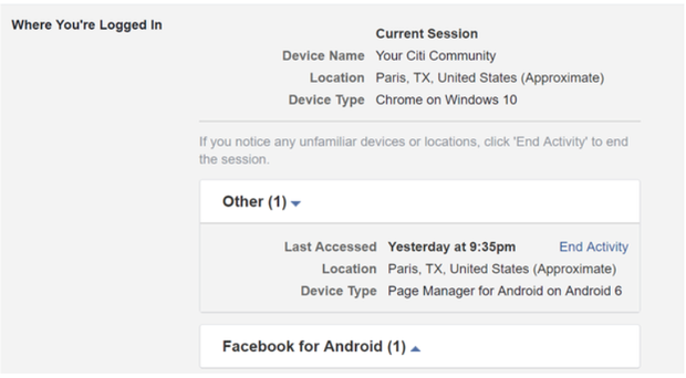 my facebook account has been hacked