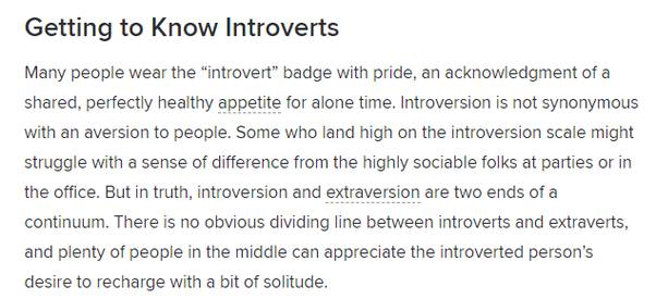 is online dating good for introverts