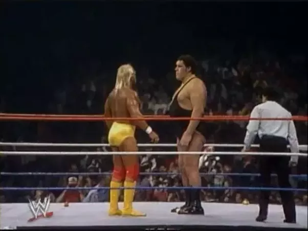 Hulk Hogan Andre The Giant Body Slam