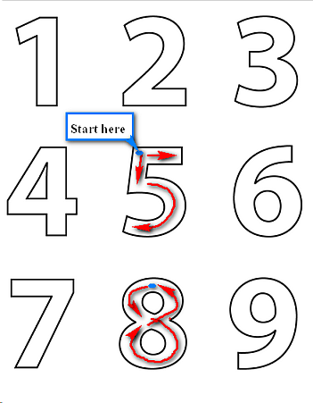 how to write out numbers You can show numbers that require three or more words to write out as numerals, because it would be cumbersome to write and read these numbers therefore, you would write 1,001, 235 and 5,783 as numerals, not as words.