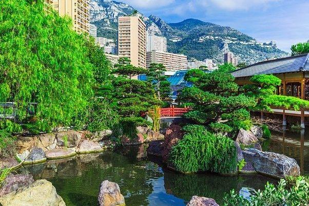 Which is better to visit cannes or monaco quora for Jardin japonais monaco