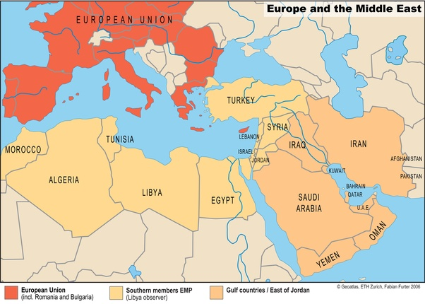 Why are the countries of the Middle East not allowed to join ...