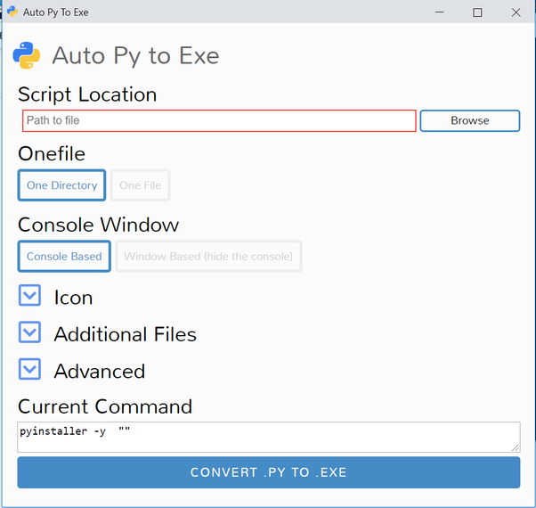 How to convert a  py file to a  exe file - Quora