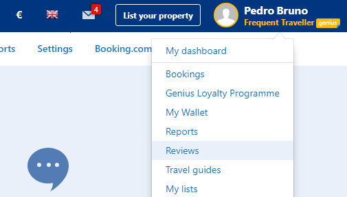 Latest Booking Accommodations Reviews