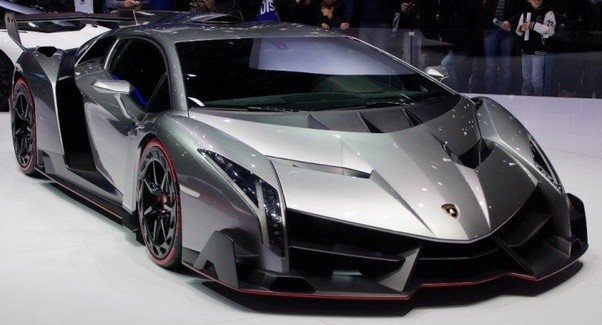 The Above Picture Is Of Lamborghini Veneno Which Also Most Expensive And High End Model Priced At 45 Million