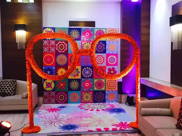 What is the approximate cost of wedding decorators only in india i would also recommend you weddingdoers where you can find the luxury wedding decorators india wedding decorations on a budget and at best and affordable junglespirit Image collections