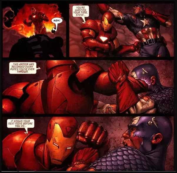 Who can beat Captain America in hand-to-hand combat? - Quora