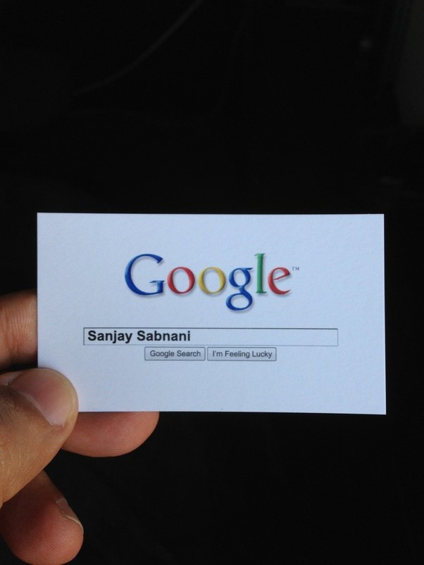 To Get Some Free Google Cards I Enjoy Using These From Time Especially At Indian Social Events Where Do Not Want Talk About Business