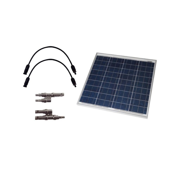 Can I connect an inverter to my solar panels without