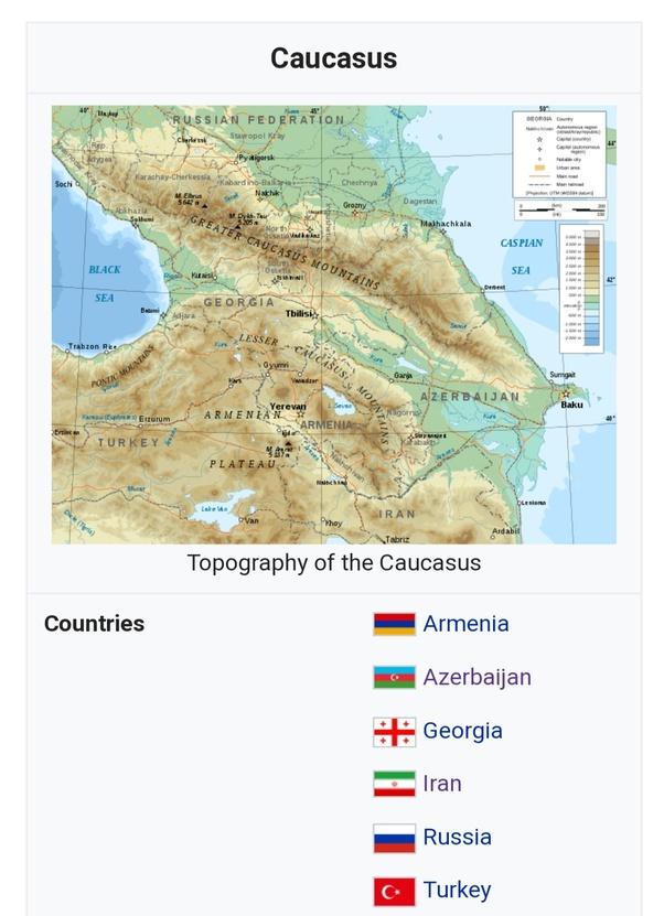 asian caucasian countries