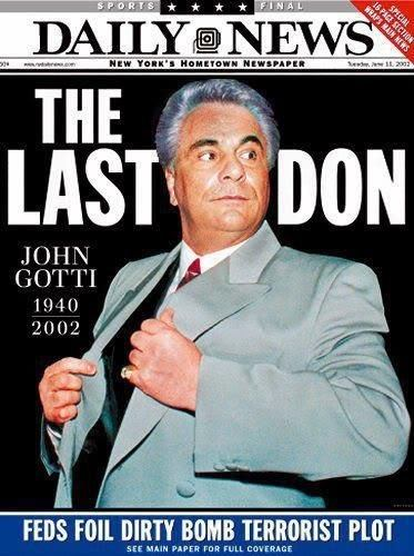 american mafia and the biography of john gotti John gotti: the last mafia icon allan may, biography april 2, 2018 the american gangster has become as american as say.