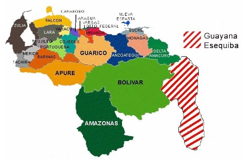 Why do people in Venezuela hardly know anything about Guyana if its