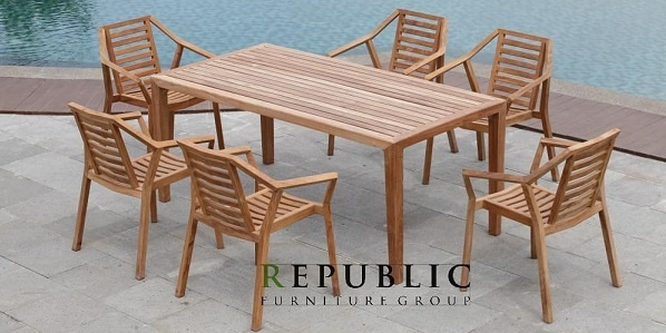 Republic Furniture Group Jepara Teak Outdoor Indonesia