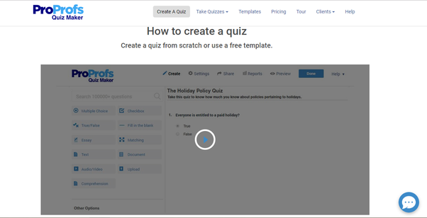 Quizzing: What are some good ways to create a quiz? - Quora