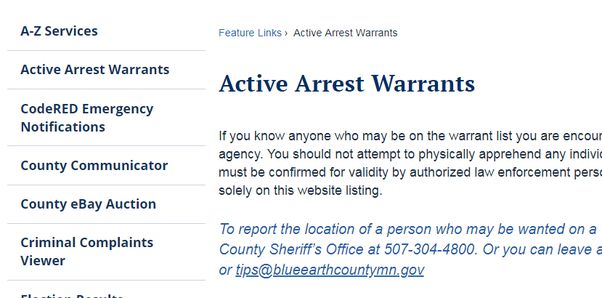 Where are arrest warrants kept? - Quora