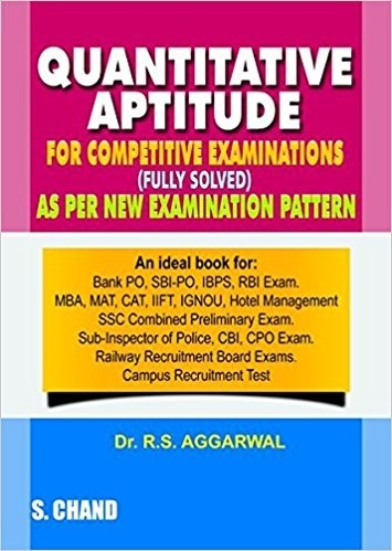 Which book should i prefer for rbi grade b preparation quora buy quantitative aptitude for competitive examinations old edition book online at low prices in india fandeluxe Choice Image