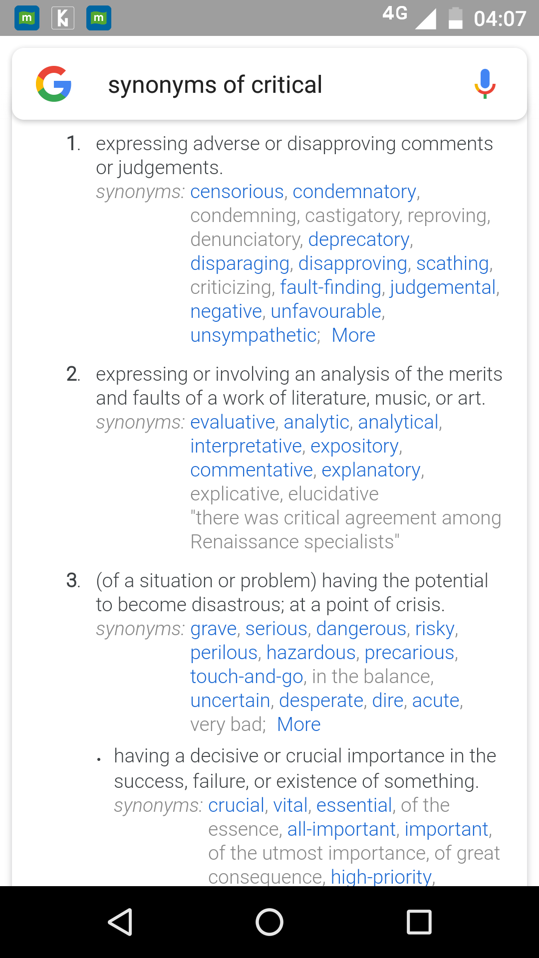 What are synonyms of being critical? - Quora