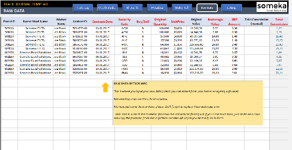 Excel Trade Journal Ready To Use Spreadsheet Template For Traders